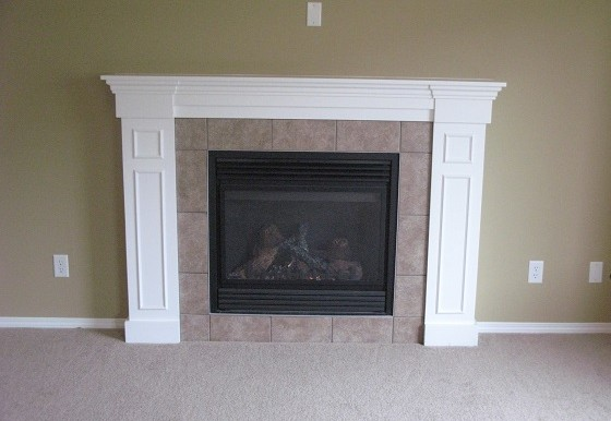 262 Luxstone Road SW Fireplace